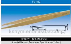 150mm ESD Bamboo Tweezer