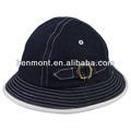 sarja preta demin pescador chapéu de balde para criança made in china