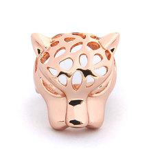 Fashion Jewelry Alloy Animal Tiger Head Women Shield Rings Wholesale