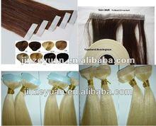 Hot Selling Brazilian Human Hair Tape Hair Extension Skin Weft