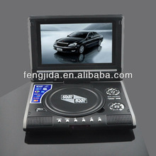 7 inch mini lcd portable dvd player rechargeable battery pack for portable dvd player