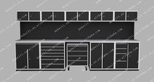 Metal Tool Case Uesd for Garage Workbench or Workshop AX-ZHG0070B-1