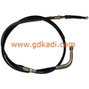 China YBR125 motorcycle parts - clutch cable for drum model