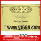 customized certificate of origin,certificate sample