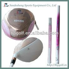 Pink ladies golf club driver