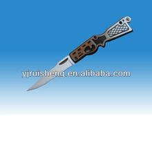 New Design High Quality fashionable aluminium anodized folding knives