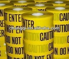 Yellow PE Warning Tapes( Barrier Caution Tapes)