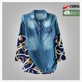 damen neuen design formelle guayabera shirt