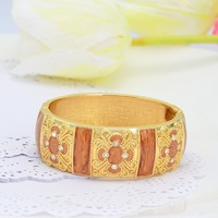 B1626 fashion accessory gold plated religious bangle&bracelet for ladies