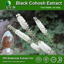 Medical Grade Black Cohosh Powder Extract/Natural Black Cohosh P.E./Black Cohosh Extract 2.5%