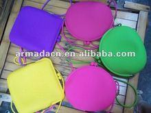 New Fashion Ladies' leisure Silicone cosmetic bag