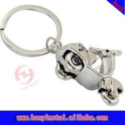 Promotional motorcycle key ring,metal motorcycle keyring
