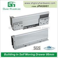 Top quality useful drawer slide tracks soft and self close