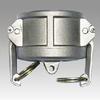 Aluminum casting camlock quick coupling