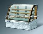 bakery display cabinet /Single arc cake refrigerator/glass display cabinet showcase
