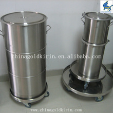 100L straight stainless steel barrels for wine