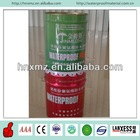 Strong adhesive and elongation force and one component polyurethane waterproof coating