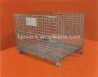 Storage metal pallet cage