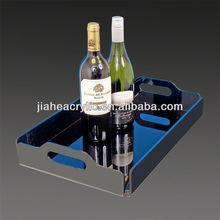Fashionable acrylic hotel amenity tray