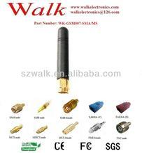 GSM Antenna SMA rubber: Rubber antenna, SMA male straight