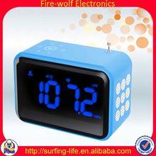 FM Cheap Plastic Alarm Clock Wholesaler