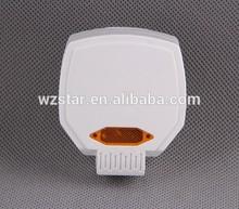 3 flat pin electrical plug