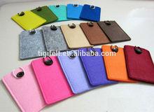 Wool Felt Mobile Phone Cover With Custom Logo