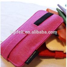 Colorful Plain Wool Felt Mobile Phone Case