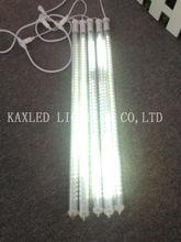 LED snowfall tube light with meteor chasing effect,led meteor shower lighting tubes