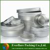 Solid perfume aluminum jar,hot sale cosmetic jar,aluminum cosmetic jar