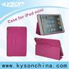 For ipad mini leather case, portfolio patterned cases for ipad mini