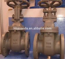 BS5163 Non-Rising stem gate valve/ Cast iron gate valve with Brass seal