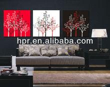 fashion oil decorative flower painting canvas