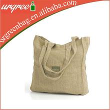 Stripe souvenir canvas beach tote shopping bag