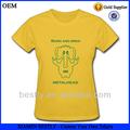 promozionali personalizzati slogan stampato t shirt
