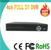 H.264 VGA audio output and support P2P standalone 4ch D1 CCTV DVR