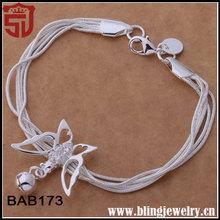 Wholesale Butterfly Accessories Bulk Custom Indian Bracelets Charms