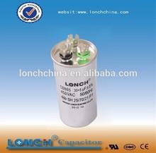 high voltage 25+5uf capacitor CBB65 for sale