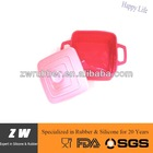 ZW Food Grade Unbreakable Microwave Safe Silicone Rubber Bowl MJ-399