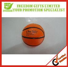 PU High Quality Foam Basketball Stress Ball