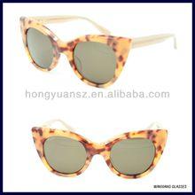 2014 Most Popular Orange Tortoise Sunglasses Hot Stamping Logo