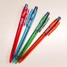 2014 creative lovely cheapest price ball pen box packing ballpoint pen 0.7mm