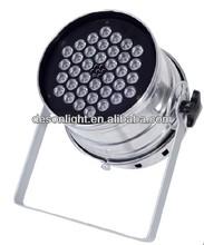 led par rgb disco light 3w led par 64 / 36pcs led par can