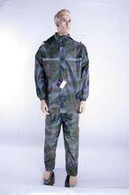 Promotional clear plastic rain suit 2014 hot