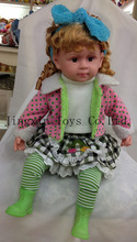 China import muslim baby doll with beautiful clothes
