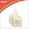 Promotional cotton canvas tote bags with handles