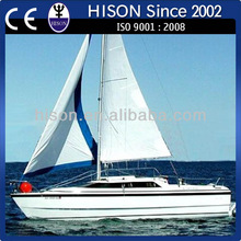 Hison manufacturing 26ft Luxury sailboat manufacturers
