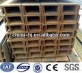 laminado en caliente la fabricación de aceros canal u de hierro para la arquitectura