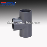 equal tee pvc pipe fittings for bathroom