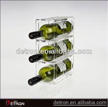 Great Design Clear acrylic wine bottle holder